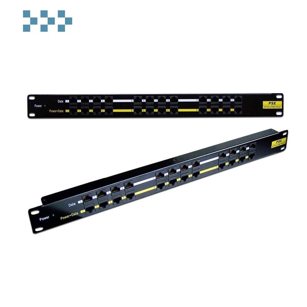 Панель POE, 12 и 16 портов, 48V, 10W, без адаптера LANMASTER