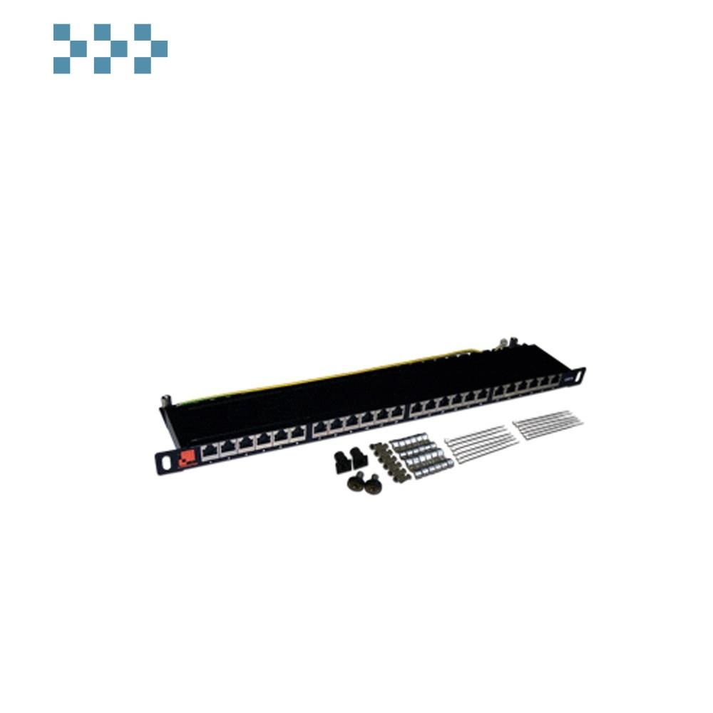 Патч-панель LANMASTER настенная с фронтальным монтажом 1U LAN-PPF12U5E/W