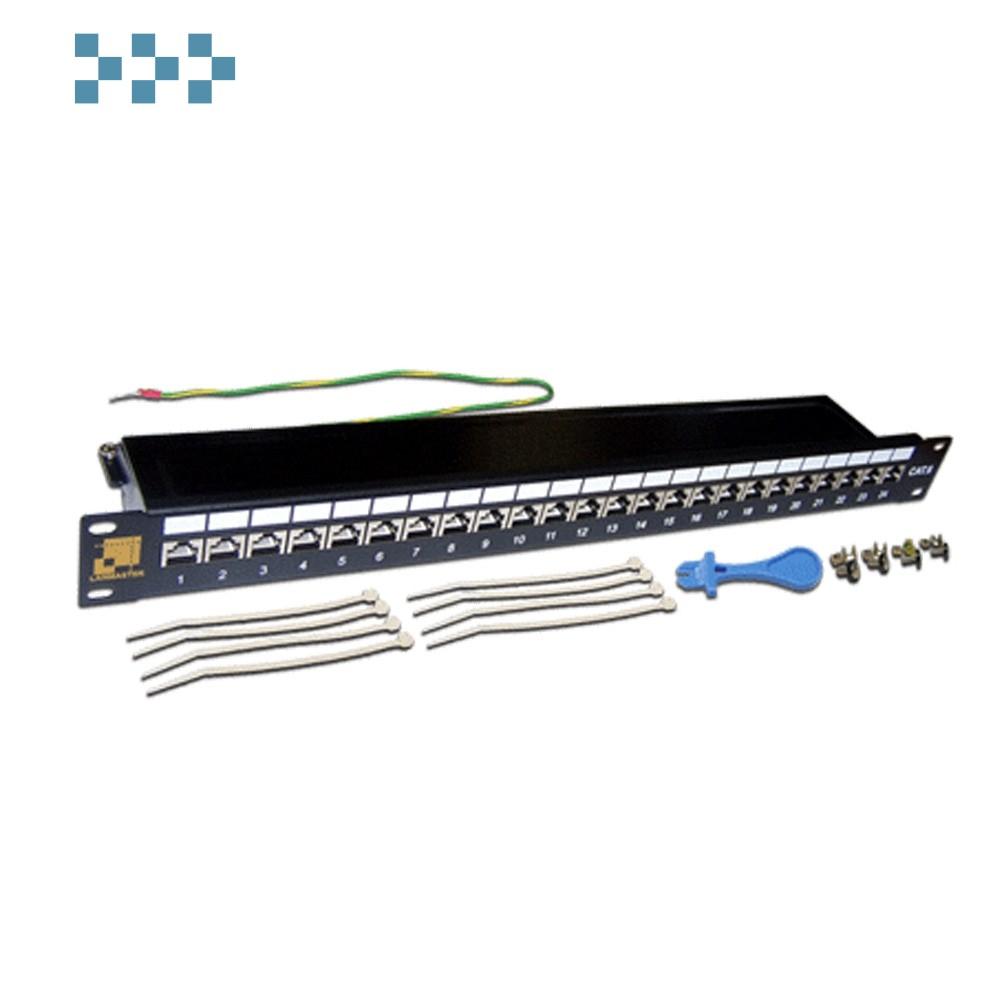 Патч-панель 24 порта, STP, LANMASTER LAN-PPL24S6
