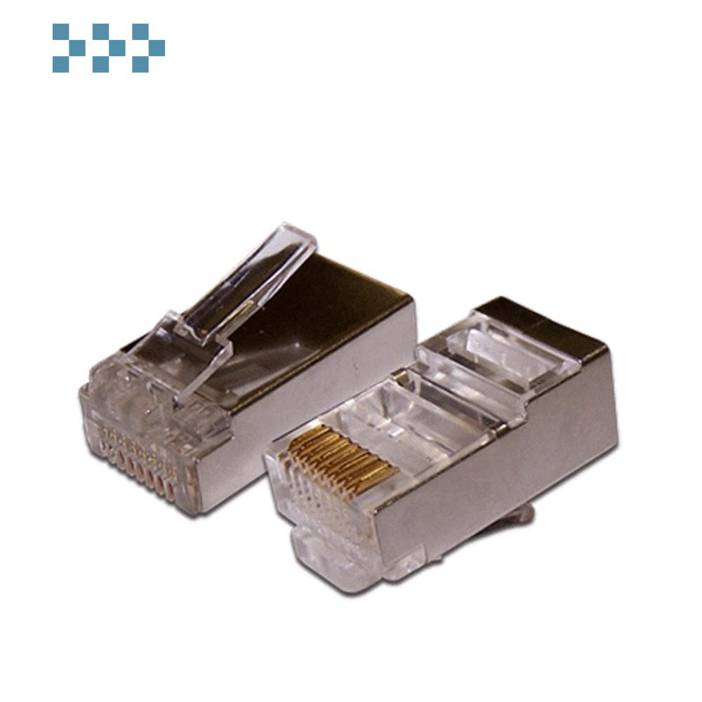 Коннекторы RJ-45, экранированные TWT-PL45/S-8P8C-6A