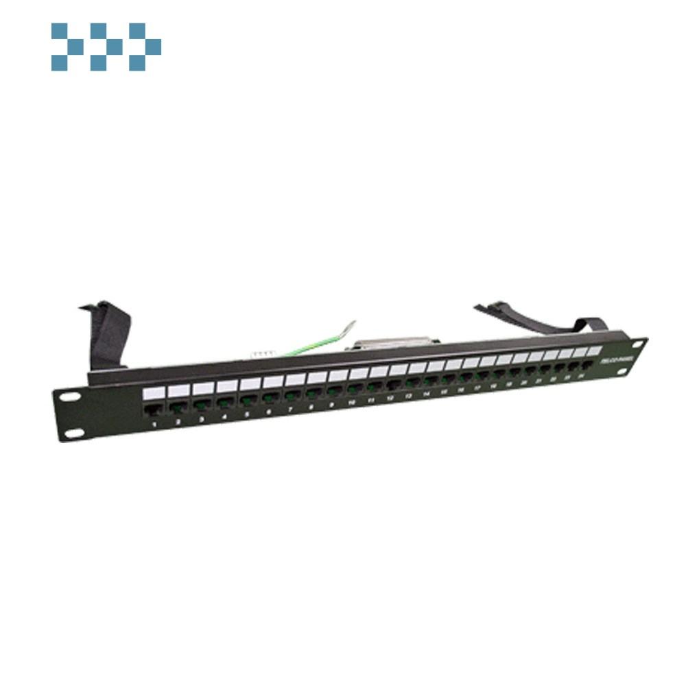 """Патч-панель TELCO, 19"""", 1U, 24 порта TWT-PP24TLC-45"""