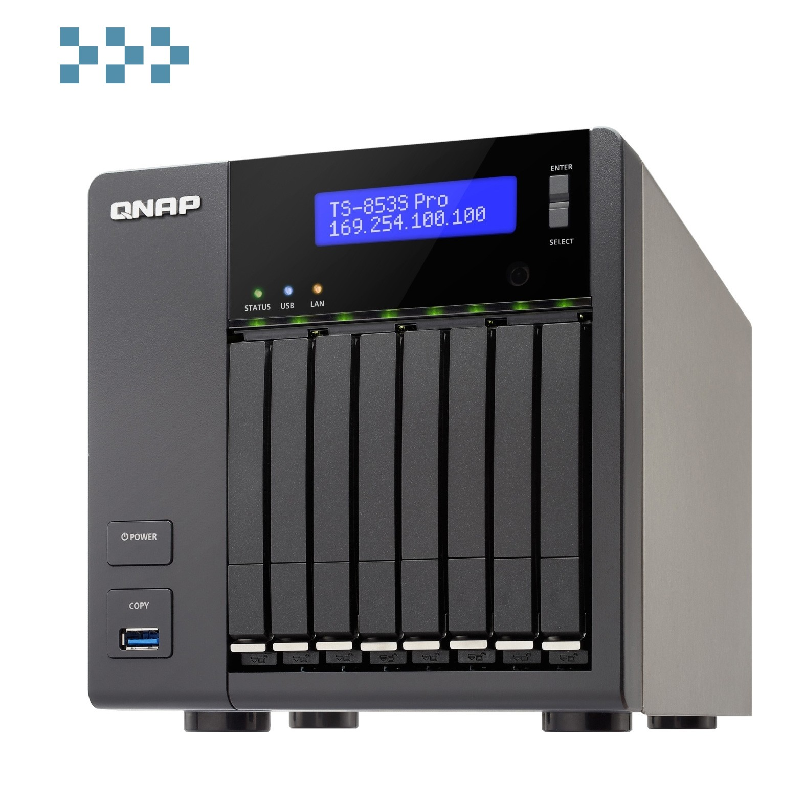 Сетевой накопитель QNAP TS-853S Pro