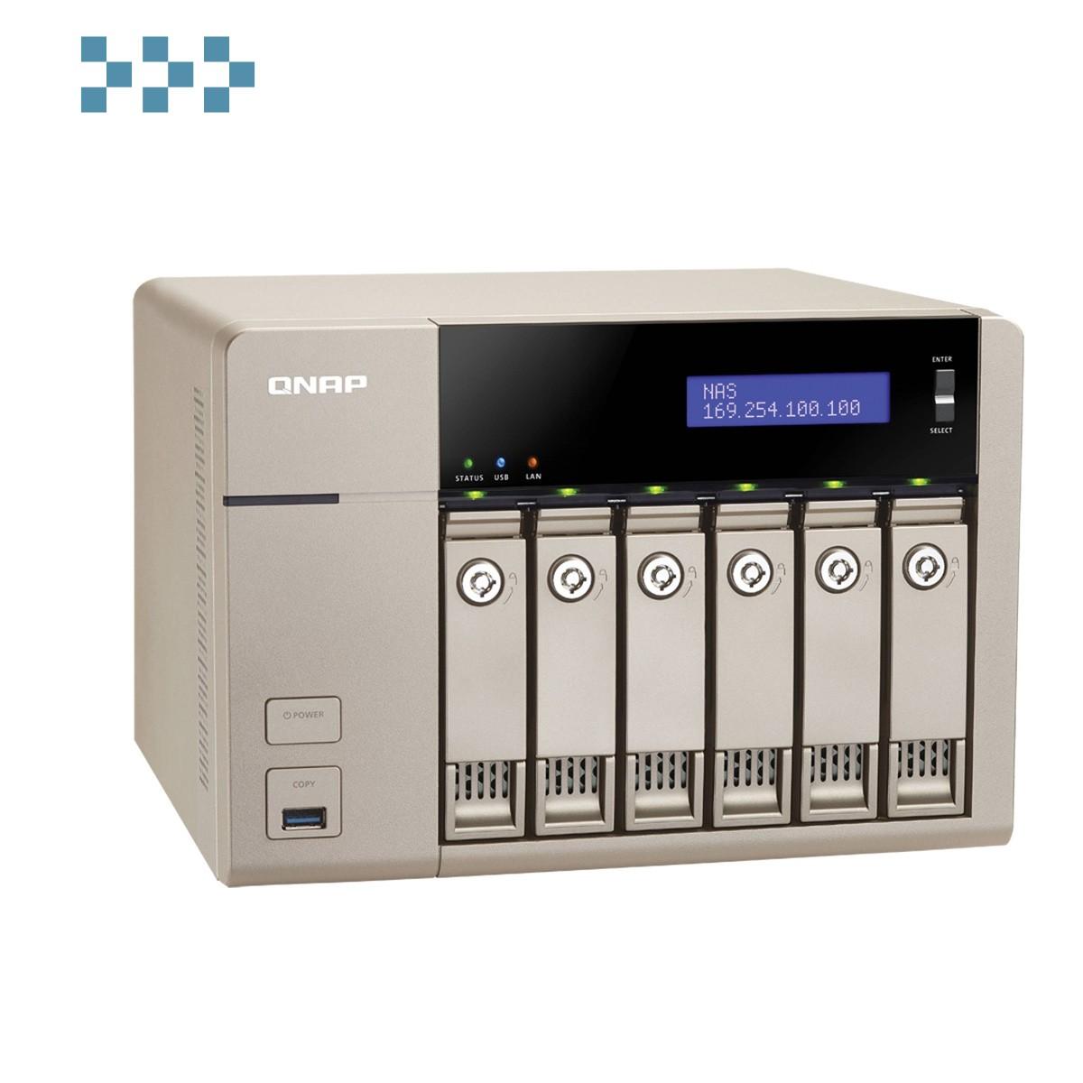 Сетевой накопитель QNAP TVS-663-4G
