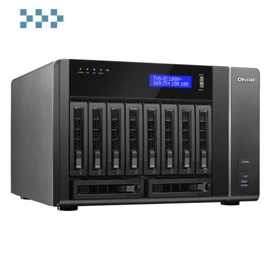 Сетевой накопитель QNAP TVS-EC1080+-E3-32G