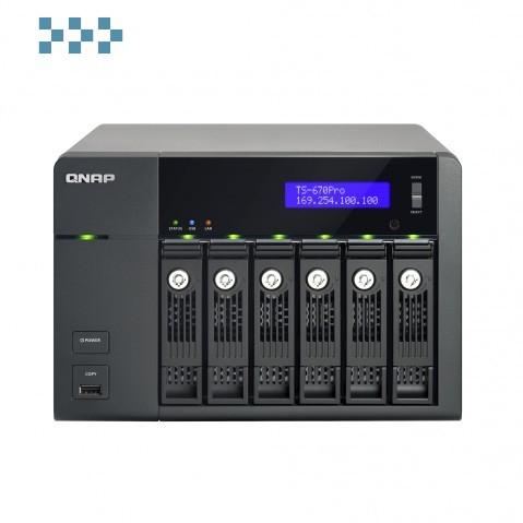 Сетевой накопитель QNAP TS-670 Pro/TS-670 Pro-16G