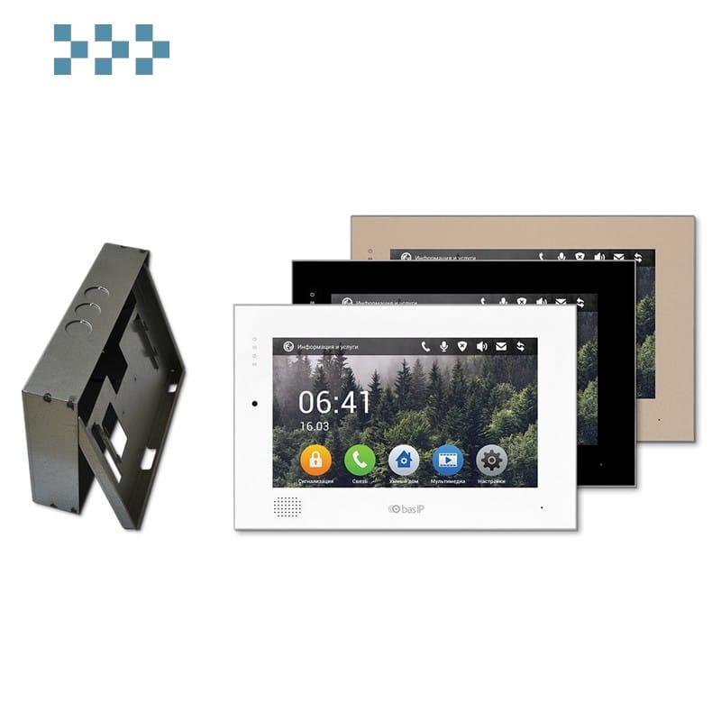 Видеодомофон BAS-IP AQ-10 WHITE