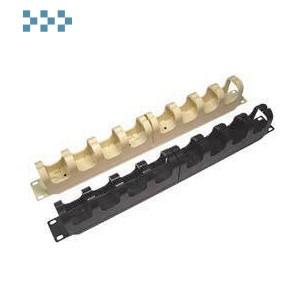 Органайзер для 110-го кросса 19′ 1U LANMASTER LAN-RS110-ORG-WH