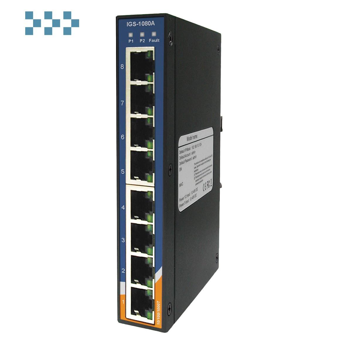 Промышленный коммутатор IGS-1080A ORing