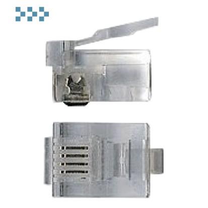 Коннектор телефонный RJ12 TWT-PL12-6P4C