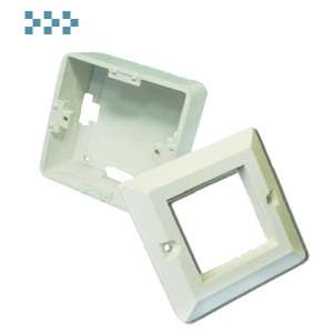 Настенная коробка, лицевая рамка, французский стандарт TWT-WP45x45-WH