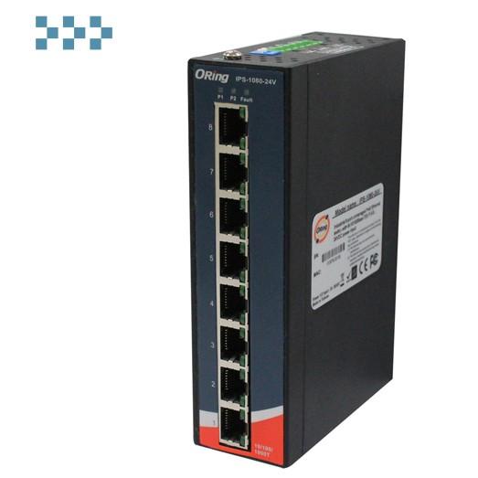 Промышленный PoE коммутатор ORing IPS-1080-24V