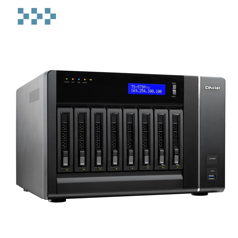 Система хранения данных QNAP TS-879 Pro