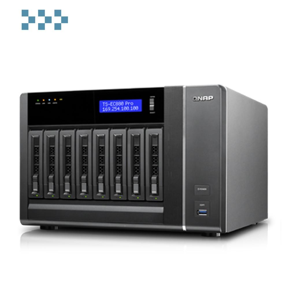 Сетевой накопитель QNAP TS-EC880 Pro