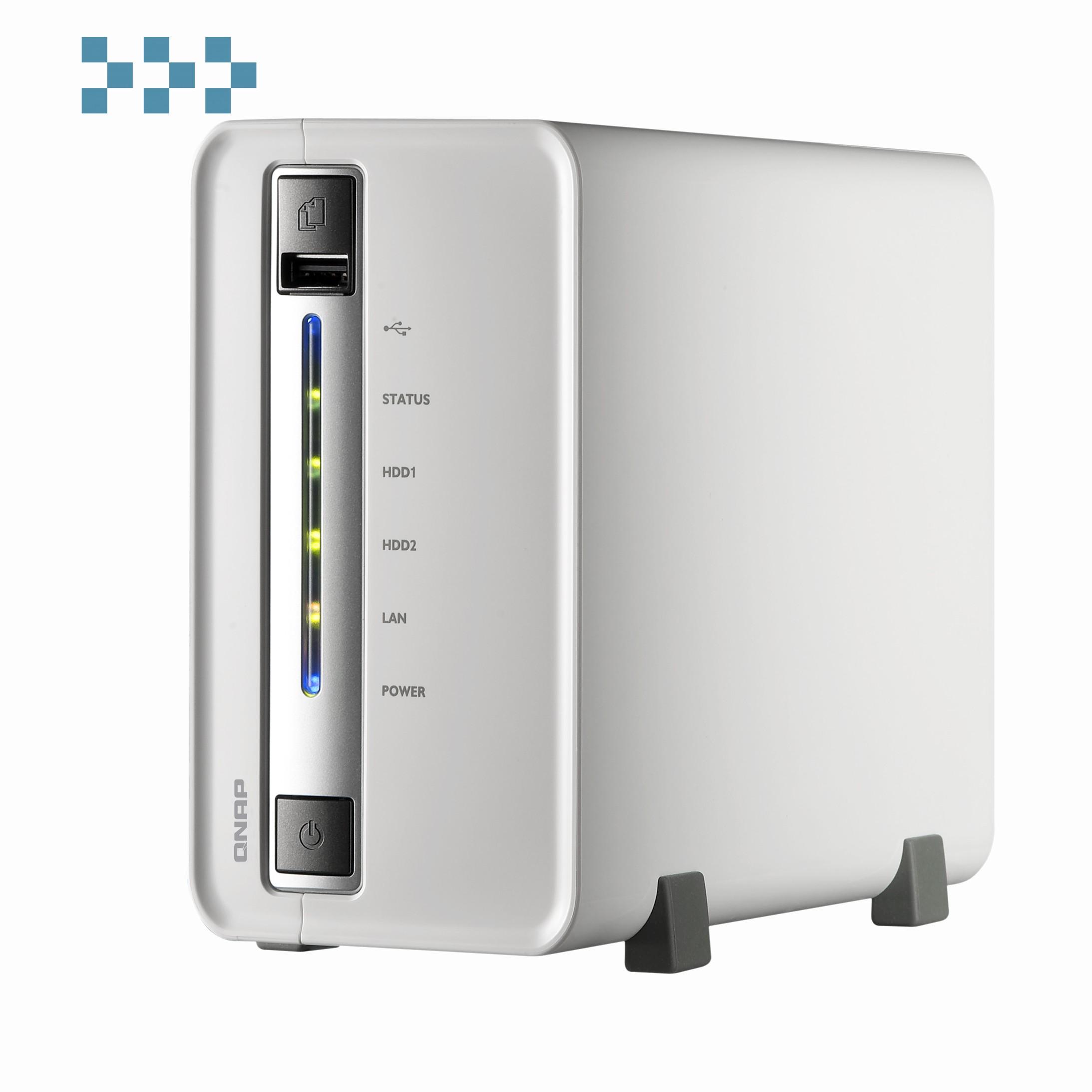 Цифровой видеорегистратор QNAP VS-2104L