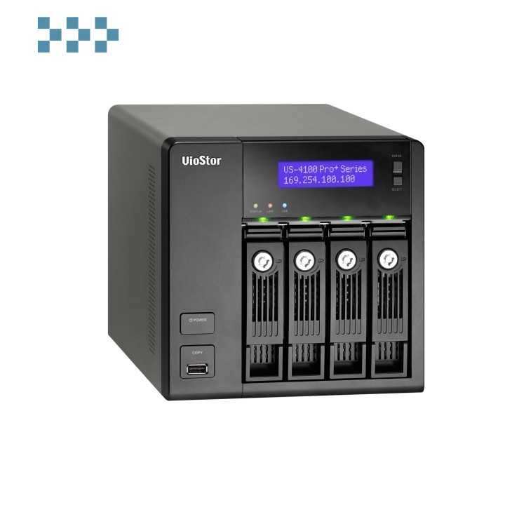 Цифровой видеорегистратор QNAP VS-4108 Pro+