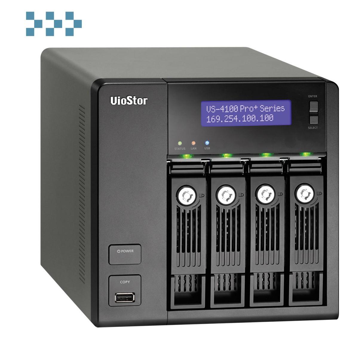 Цифровой видеорегистратор QNAP VS-4112 Pro+