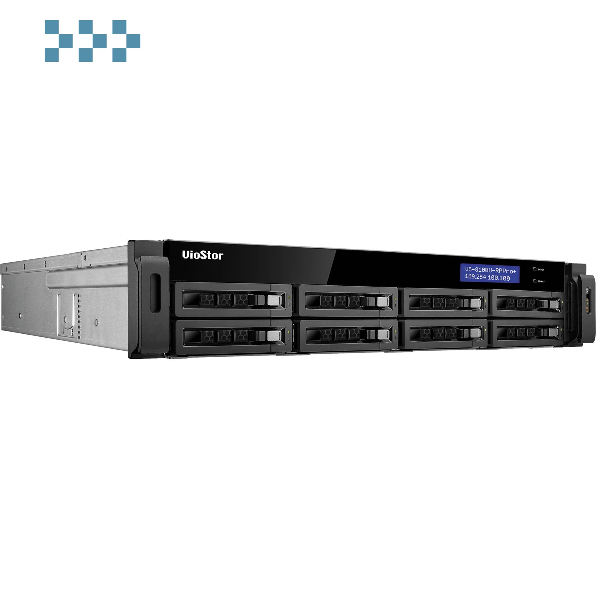 Цифровой видеорегистратор QNAP VS-8124U-RP Pro+
