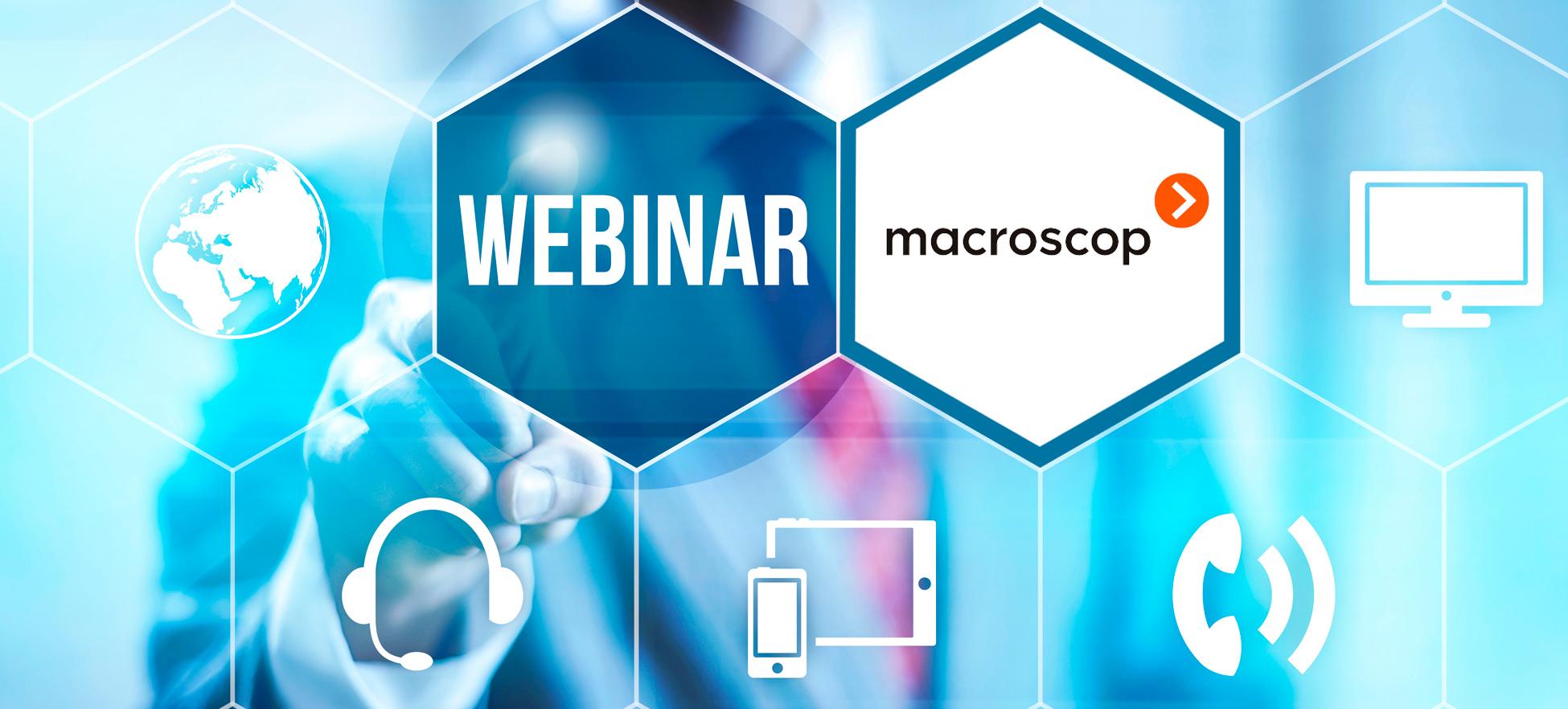 Вебинар — «Новинки Macroscop: модуль распознавания лиц Basic и система 3D подсчёта посетителей».