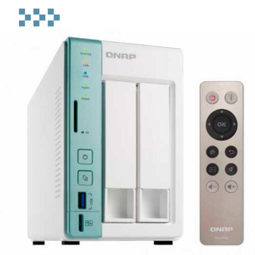 Сетевой RAID-накопитель QNAP D2 Pro