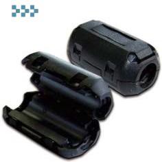 Фильтр ферритовый LANMASTER на шнур питания LAN-FF-0.75-BK