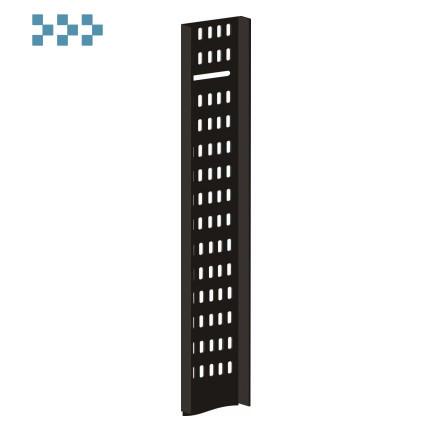 Вертикальный кабельный лоток для напольных шкафов TWT-CB-CTR-42U-1