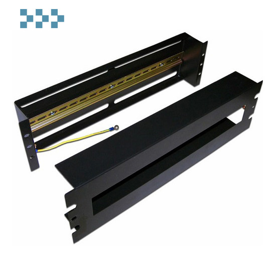 Панель с DIN-рейкой, 19″ TWT-CB-DINRL/3U