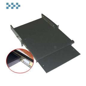 Полка для клавиатуры выдвижная фронтальная TWT-CB-SKF355-1U/18