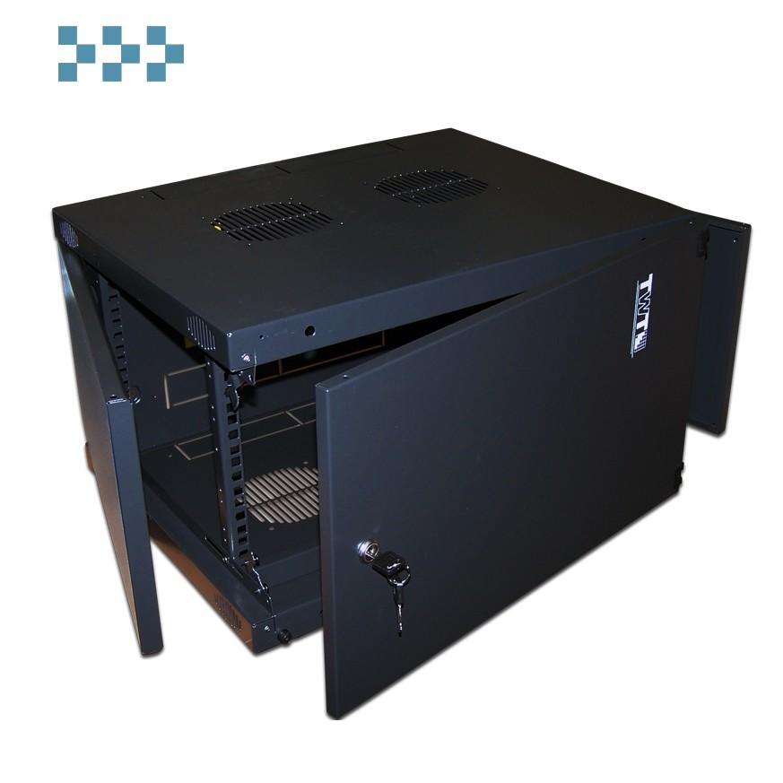 Телекоммуникационный шкаф настенный серии TWT 'NEXT' TWT-CBWNM-6U-6×6-BK