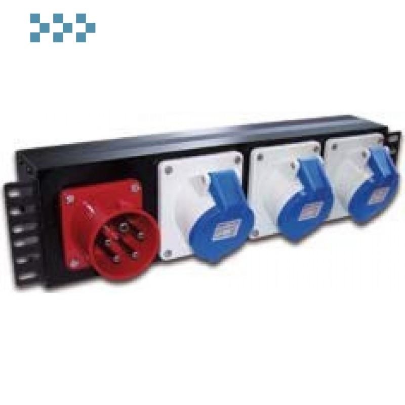 Блок силовых розеток 19″ TWT-PDU-32AI9-1P