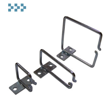 Металлическая скоба-органайзер на 19″ профиль TWT-RING-M80x40