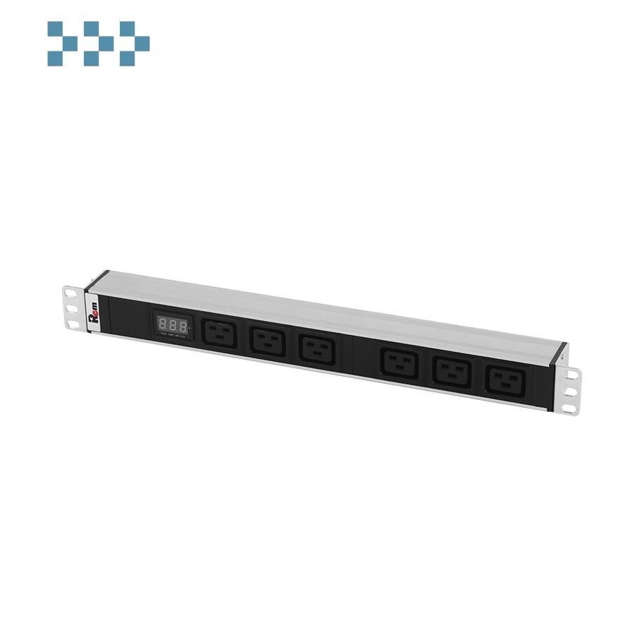 Блок розеток ЦМО R-32-6C19-Am-440-K