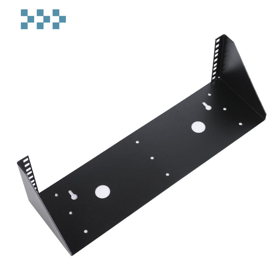 Кронштейн телекоммуникационный настенный 2U ЦМО КНО-В-2U-9005