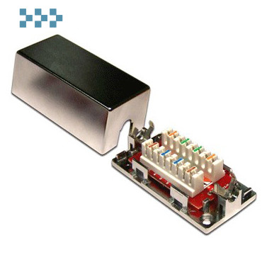 Соединительный модуль, категорий 5е/6 LANMASTER LAN-CNB-STP6