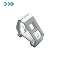 Рамка на DIN-рейку LANMASTER LAN-DRF-1OK-WH