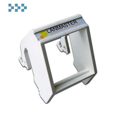 Рамка на DIN-рейку LANMASTER LAN-DRF-45×45-WH