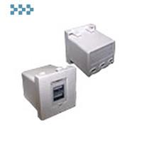 Модуль USB-зарядки, 2 порта LANMASTER LAN-EZ45x45-2xUSB-WH
