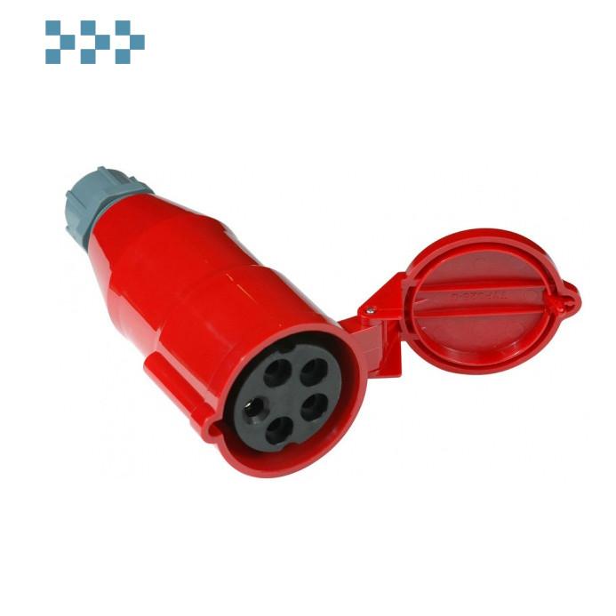 Вилка IEC 309 трехфазная LANMASTER LAN-IEC-309-32A3P/F