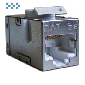 Повторитель портов RJ-45, экранированный, тип Keystone LANMASTER LAN-KCP45S5E
