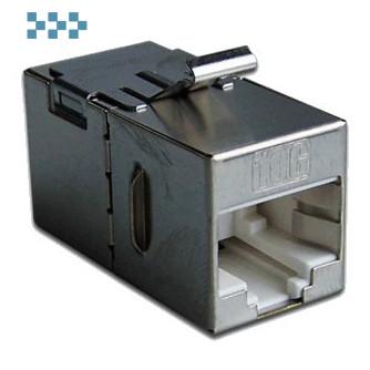 Повторитель портов RJ-45, экранированный, тип Keystone LANMASTER LAN-KCP45S6A