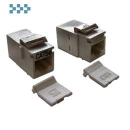 Повторитель портов RJ-45, неэкранированный, тип Keystone LANMASTER LAN-KCP45U5E-WH