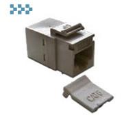 Повторитель портов RJ-45, неэкранированный, тип Keystone LANMASTER LAN-KCP45U6-WH