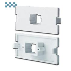 Модульные вставки в розетки LAN-MB LANMASTER LAN-MBP-1SC-WH