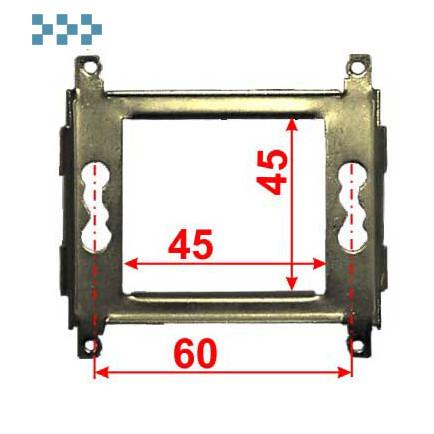 Суппорт металлический LANMASTER LAN-MF45x45