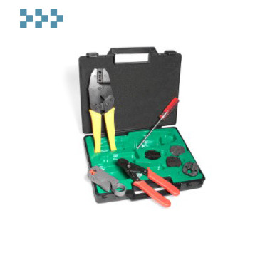 Набор для работы с коаксиальным кабелем LANMASTER LAN-NT-TK/COAX