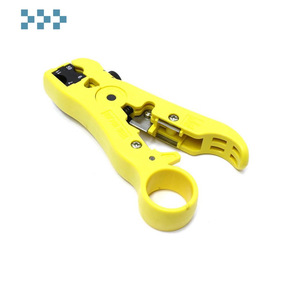 Набор для обжима витой пары и коаксиального кабеля LANMASTER LAN-NT-TK/CRI