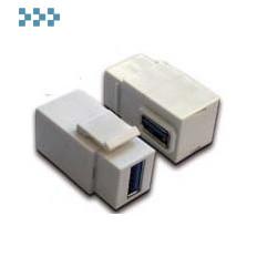 Модуль USB, типа Keystone LANMASTER LAN-OK-USB30-AA/V-WH