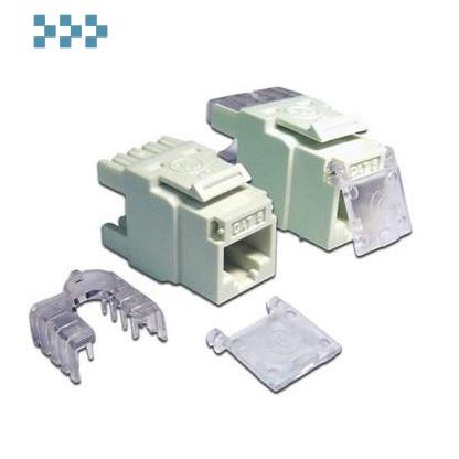 Модуль RJ-45, неэкранированный, типа Keystone LANMASTER LAN-OK45U6/180-WH
