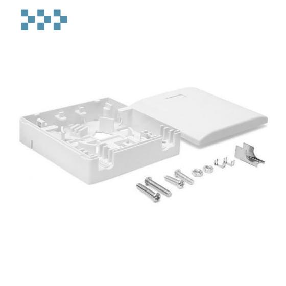 Коробка настенная под адаптер SC LANMASTER LAN-SBF1-WH