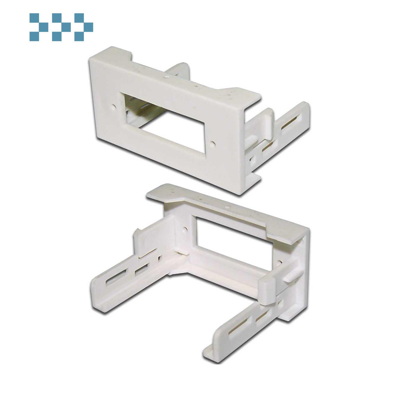 Вставки стандарта Mosaic LANMASTER LAN-WA-LP-2SC-WH