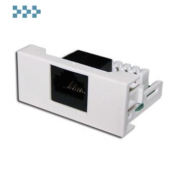 Вставки стандарта Mosaic LANMASTER LAN-WA-LP-45/6-WH